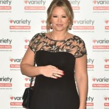 Kimberley Walsh in Tiffany Rose