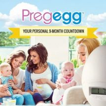 Countdown to pregnancy with Pregegg