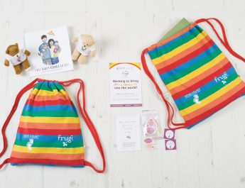 KICKS COUNT AND FRUGI LAUNCH RAINBOW PROJECT TO HELP FAMILIES WITH BABY LOSS