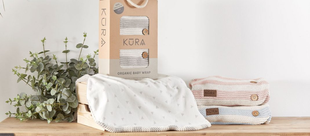 Three mums launch sustainable baby brand, Kura Organics