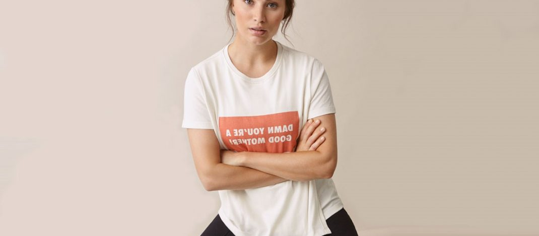 CHARI-TEE – THIS SPRING'S STATEMENT NURSING T-SHIRT SUPPORTING WOMEN'S RIGHTS