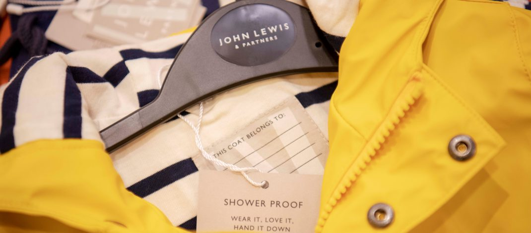 John Lewis & Partners introduces new labelling to encourage customers to hand down children's clothing